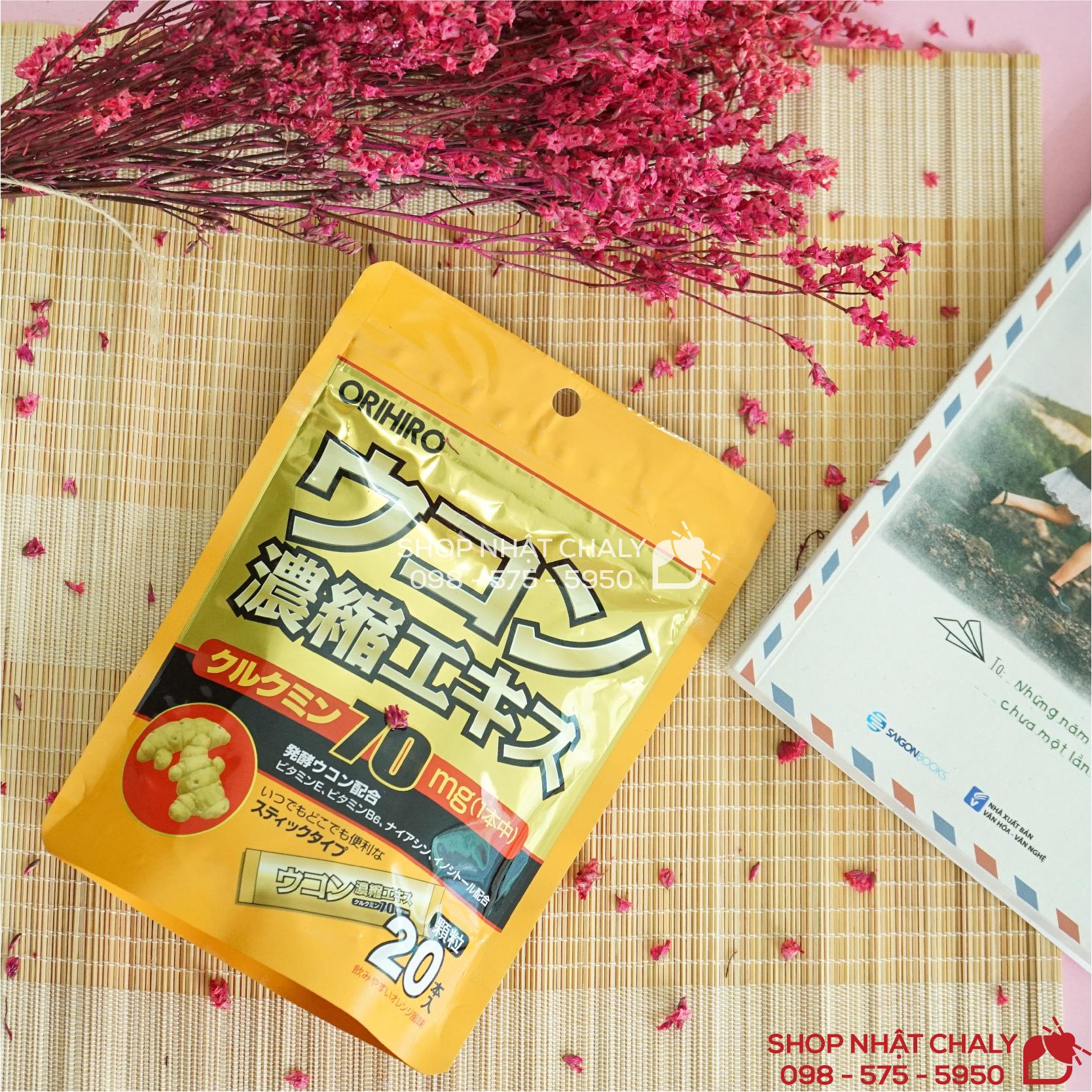 Thuốc giải rượu của Nhật Bản từ bột nghệ Orihiro ukon có hiệu quả cao, giá thành vừa túi tiền nên rất được người Nhật ưa chuộng