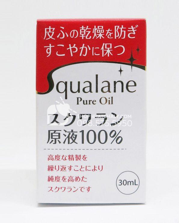 Dầu Squalene tinh chất 100% Nhật Bản lọ 30ml - 2