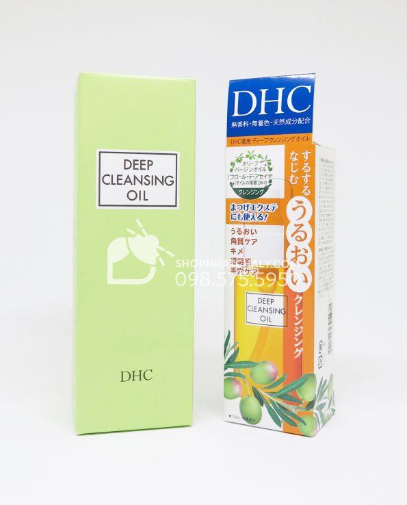 Dầu tẩy trang DHC Deep Cleansing Oil Nhật 70ml – 200ml