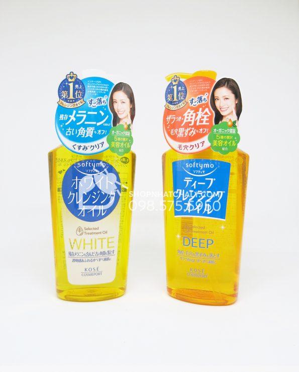Dầu tẩy trang Kose Softymo Deep Cleansing Oil 230ml Nhật