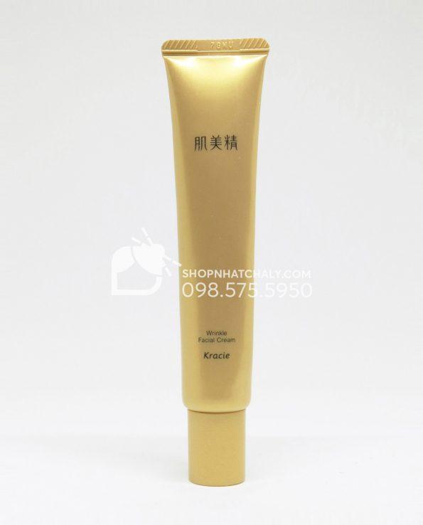 Kem chống nhăn mắt nhăn khoé miệng Nhật Kracie Hadabisei Wrinkle Facial 30gr