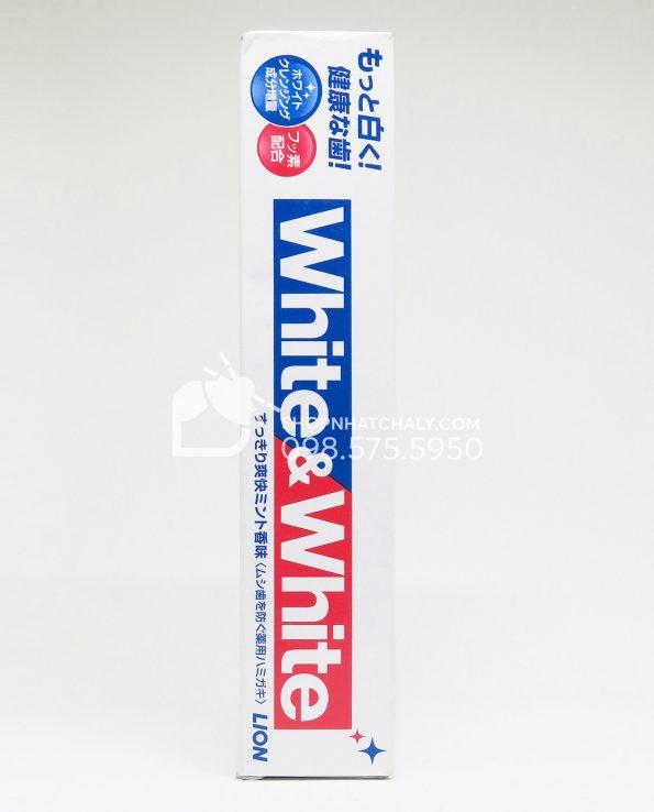 Kem đánh răng White & White của Nhật Lion 150gr