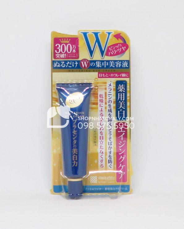 Kem trị thâm mắt chống nhăn mắt Nhật Bản Meishoku Whitening Eye Cream