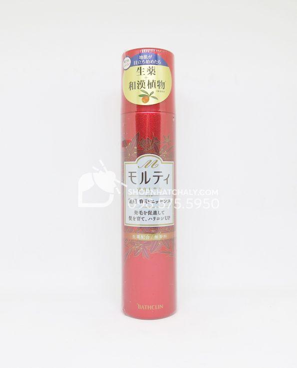 Lotion kích thích mọc tóc chống rụng tóc Nhật Molty màu đỏ 130ml