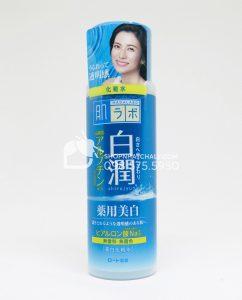 Nước hoa hồng Hada Labo cho da dầu Nhật Super Hyaluronic Acid Lotion 170ml - Trắng da
