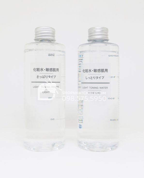 Nước hoa hồng cho da nhạy cảm Muji Light Toning Water 200ml