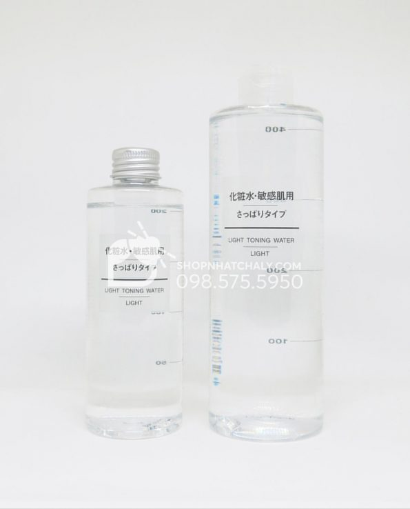 Nước hoa hồng cho da nhạy cảm Muji Light Toning Water Light 200ml - 400ml Nhật Bản