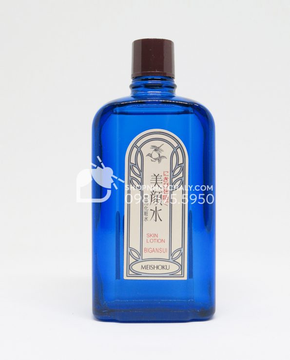Nước hoa hồng trị mụn Bigansui Medicated Skin Lotion Meishoku 80ml - Bên trong
