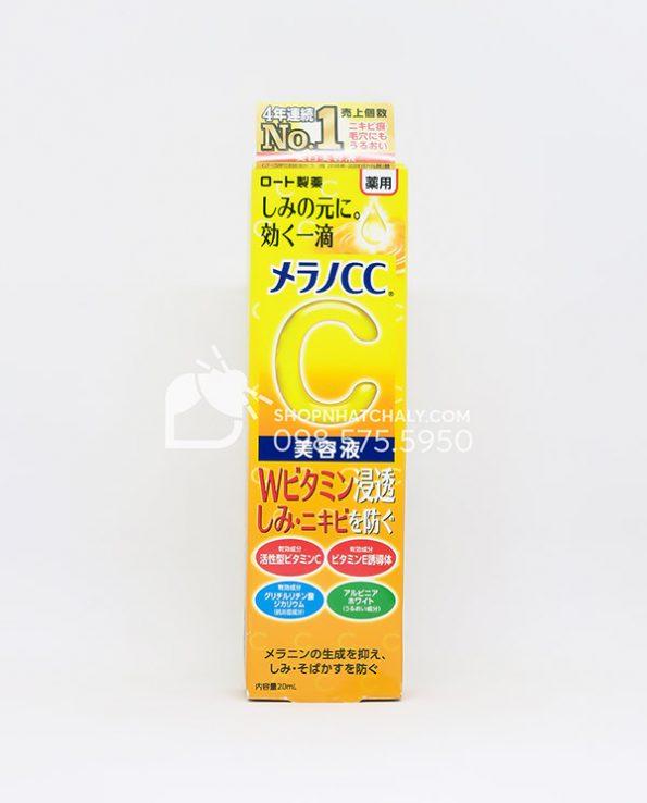 Serum Melano CC Vitamin C Rohto Nhat Ban 20ml mau moi 2021