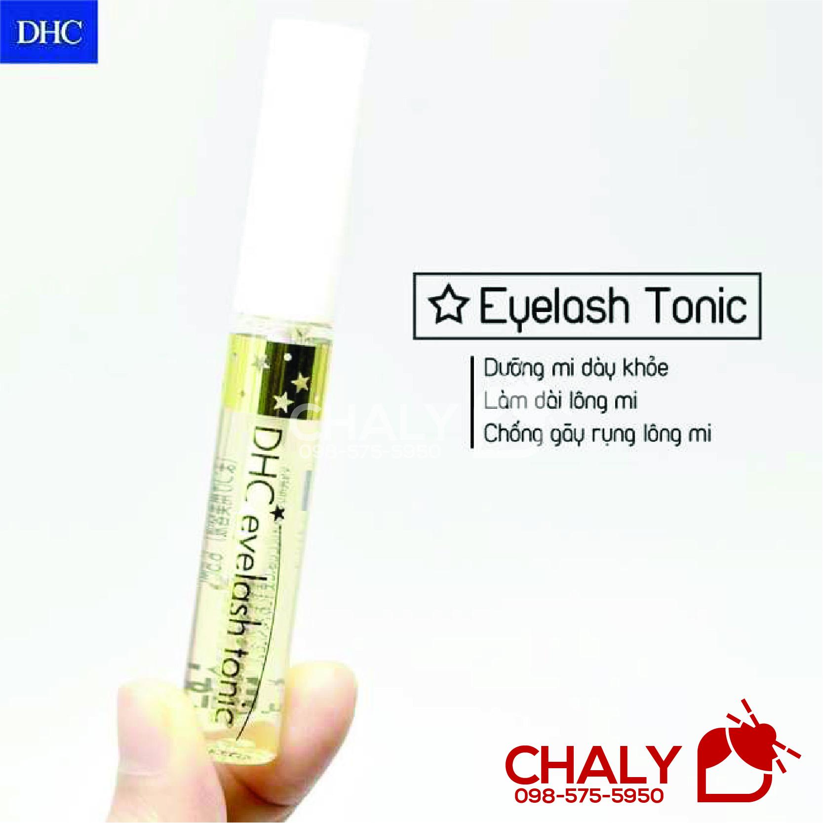 Dưỡng mi DHC Eyelash Tonic Nhật rất đa năng, được ưa chuộng vô cùng tại Nhật và toàn châu Á