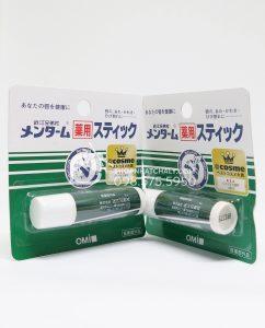 Son dưỡng môi chống khô nứt nẻ Omi Menturm Nhật Bản - 2