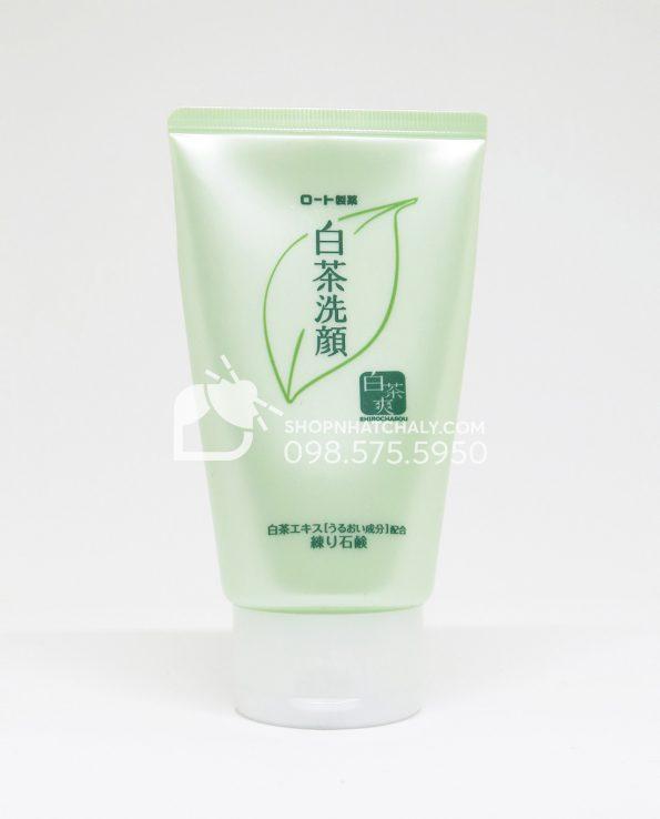 Sữa rửa mặt trà xanh Shirochasou Green Tea Foam Nhật Bản 120gr - 2