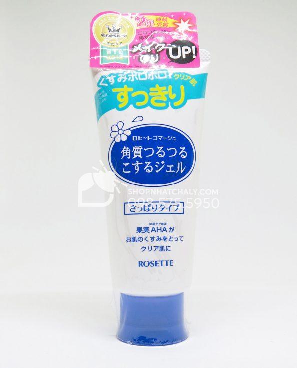 Tẩy tế bào chết Rosette Nhật Bản 120gr cho da dầu