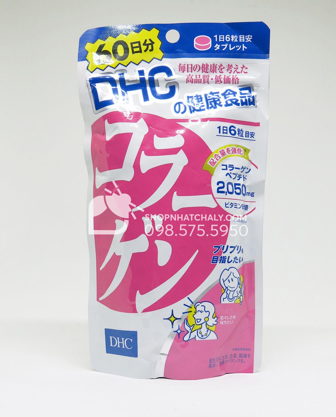 Viên uống Collagen DHC Nhật Bản túi 360 viên