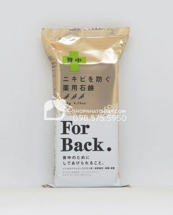 Xà phòng trị mụn lưng For Back Medicated Soap Pelican của Nhật 135gr