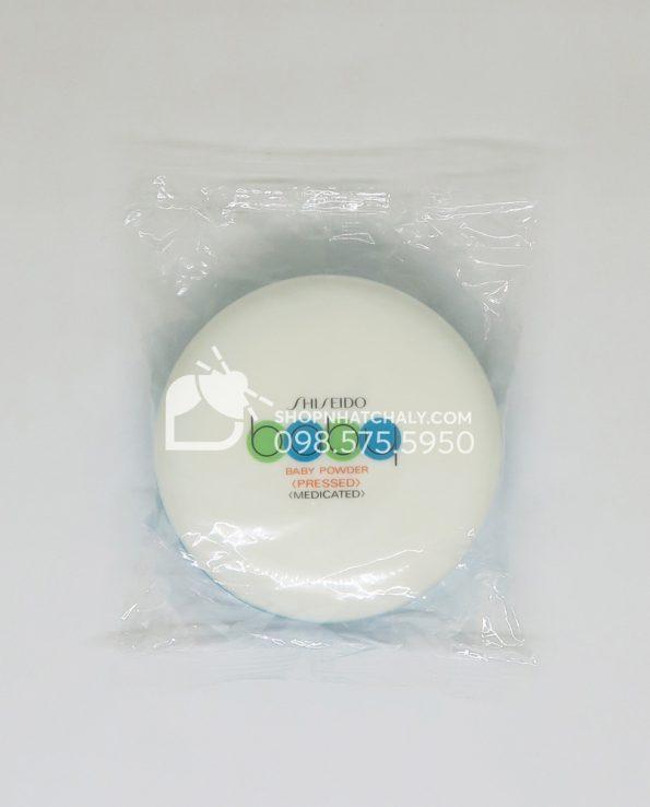 Phấn phủ Shiseido Baby Powder Nhật dạng nén