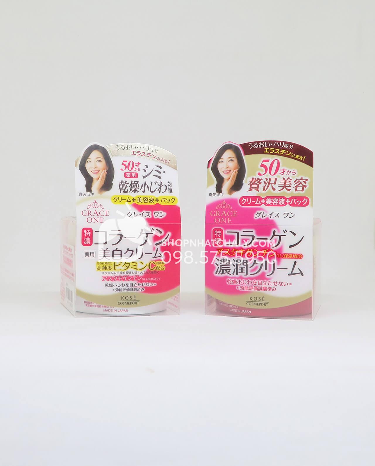 Kem dưỡng da Collagen Kose Nhật dành cho phụ nữ trên 50 tuổi mẫu mới 2018