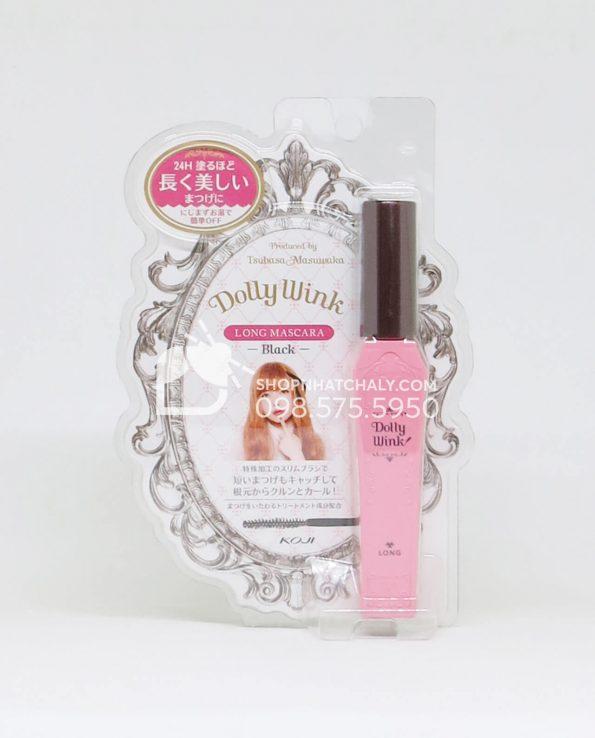 Mascara Dolly Wink Nhật Bản hồng làm dài mi mẫu mới 2018