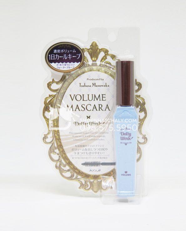Mascara Dolly Wink Nhật Bản xanh làm dày mi