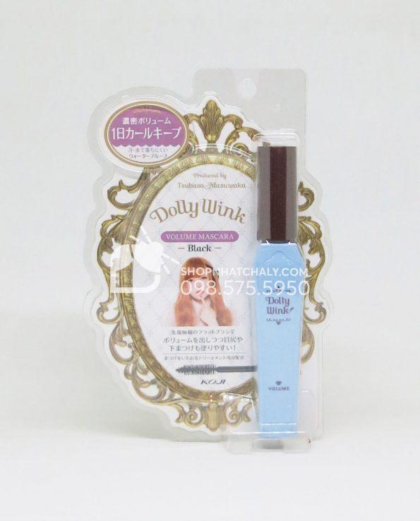 Mascara Dolly Wink Nhật Bản xanh làm dày mi mẫu mới 2018