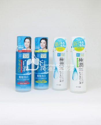 Nước hoa hồng Hada Labo Nhật Bản Super Hyaluronic Acid Lotion 170ml