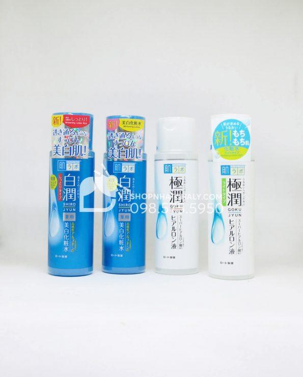 Nước hoa hồng Hada Labo Nhật Super Hyaluronic Acid Lotion 170ml