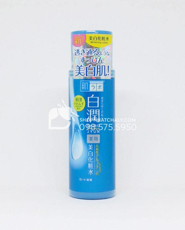 Nước hoa hồng Hada Labo Nhật Super Hyaluronic Acid Lotion 170ml trắng da da dầu mẫu mới 2018