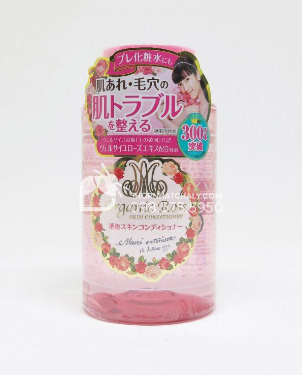 Nước hoa hồng Organic Rose Meishoku se khít lỗ chân lông 200ml