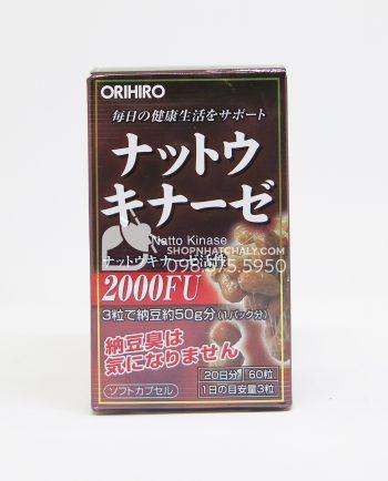 Thuốc chống - điều trị sau tai biến Nattokinase Orihiro Nhật