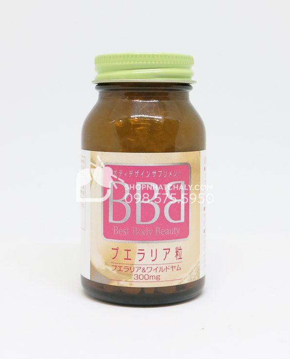 Thuốc nở ngực BBB Orihiro Best Body Beauty tăng kích thước vòng 1 lọ