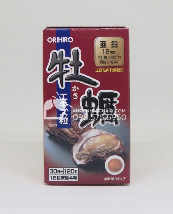 Tinh chất hàu tươi Orihiro Nhật Bản tráng thận bổ dương tăng cường sinh lý