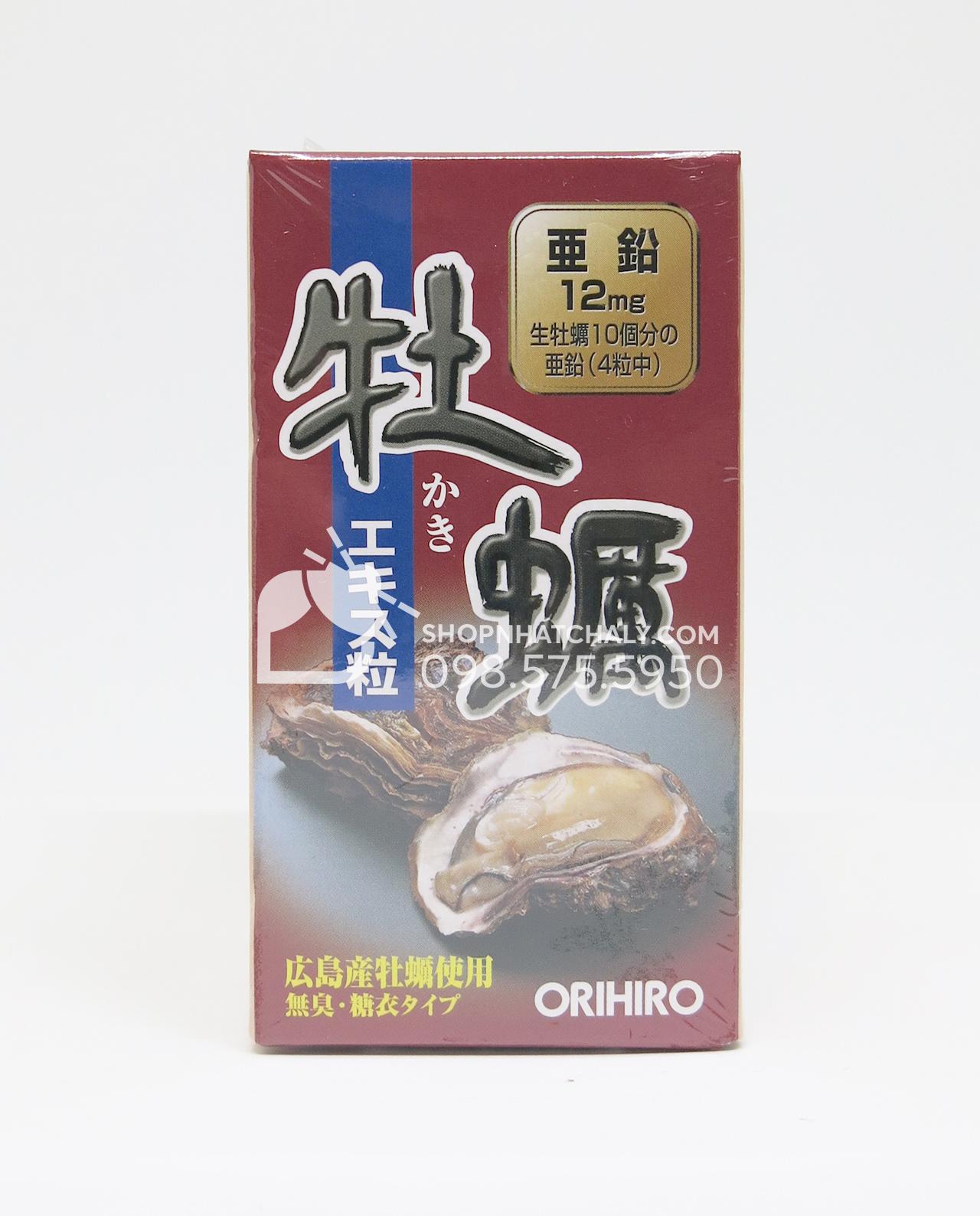 Tinh chất hàu tươi Orihiro Nhật Bản thải độc gan bổ dương