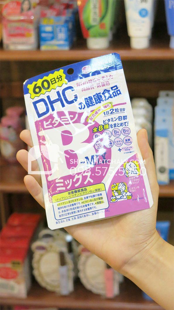 Viên uống vitamin nhóm B từ DHC Nhật 120 viên trên tay