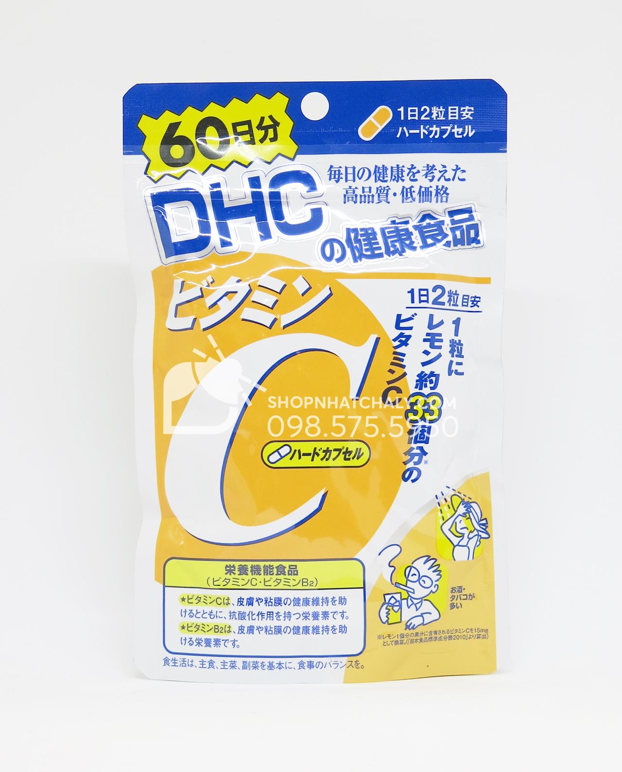 Viên vitamin C DHC của Nhật 1000mg 120 viên