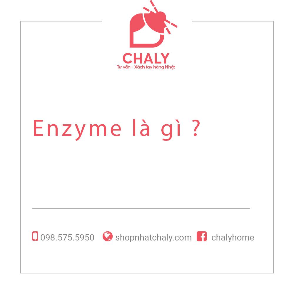 Enzyme là gì ?