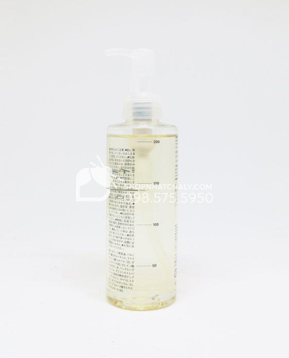 Dầu tẩy trang Muji Cleansing Oil Nhật 200ml sau