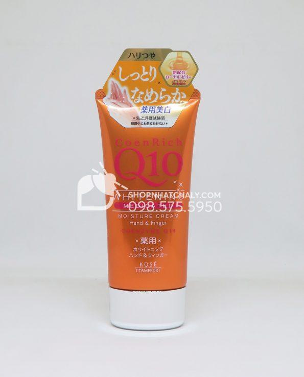 kem-duong-tay-chong-lao-hoa-kose-coenrich-q10-whitening-moisture-cream