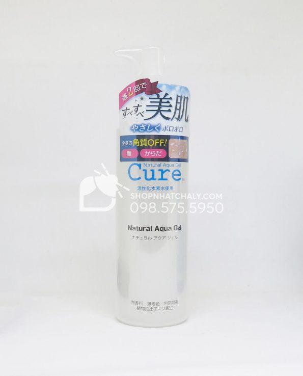Tẩy da chết Cure Natural Aqua của Nhật mẫu mới 2018