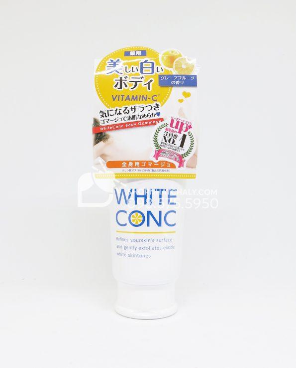 Gel tẩy tế bào chết toàn thân dưỡng trắng White Conc Body Gommage Nhật