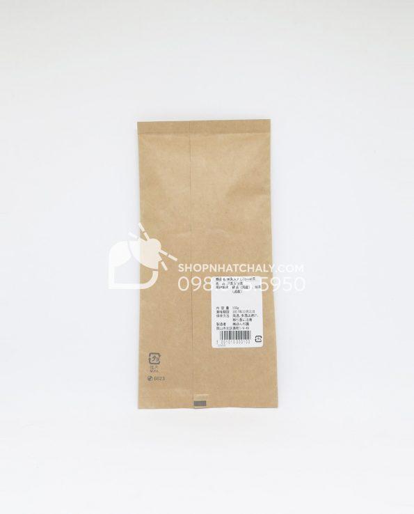 Bột trà xanh đắp mặt của Nhật 100g Sau