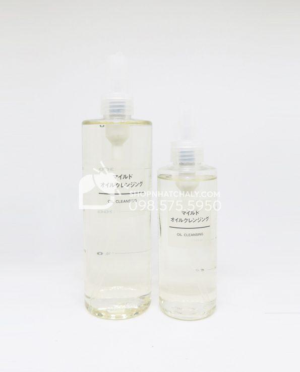Dầu tẩy trang Muji Cleansing Oil của Nhật (200ml – 400ml)