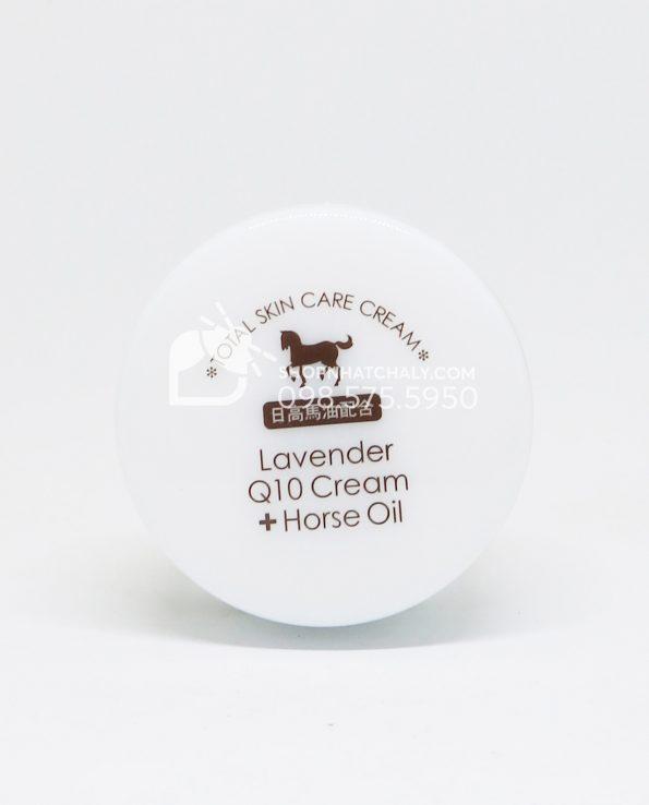 Kem dưỡng da dầu ngựa Lavender Q10 Horse Oil của Nhật Bên trong 2