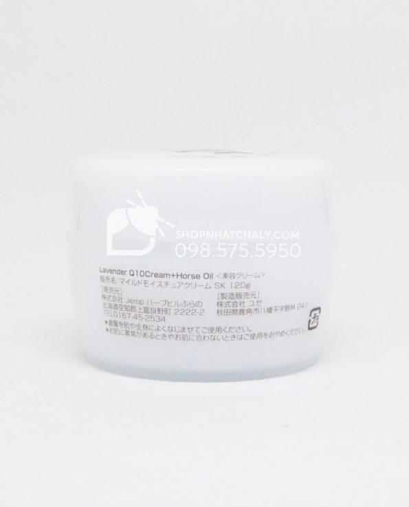 Kem dưỡng da dầu ngựa Lavender Q10 Horse Oil của Nhật Bên trong 3