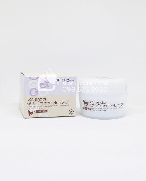 Kem dưỡng da dầu ngựa Lavender Q10 Horse Oil của Nhật Bên trong 4