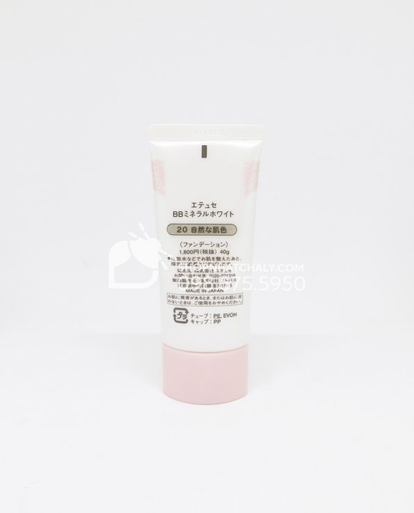 Kem nền BB Cream Ettusais Mineral 40g Sau 2