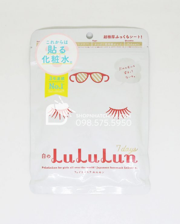 Mặt nạ Lululun - Trắng