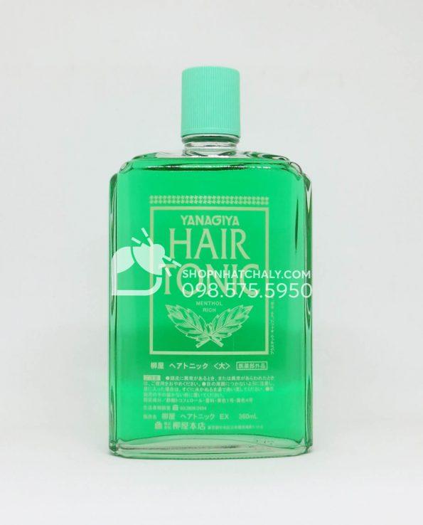 Thuốc chống rụng tóc và kích thích mọc tóc trị hói Nhật Bản Hair Tonic Yanagiya chai 360ml