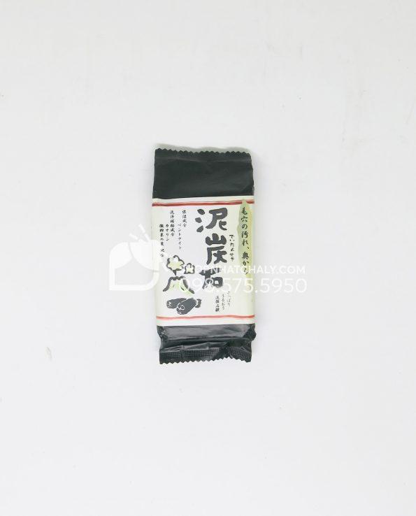 Xà phòng rửa mặt trị mụn Deitanseki Nhật – Thành phần than hoạt tính 100g