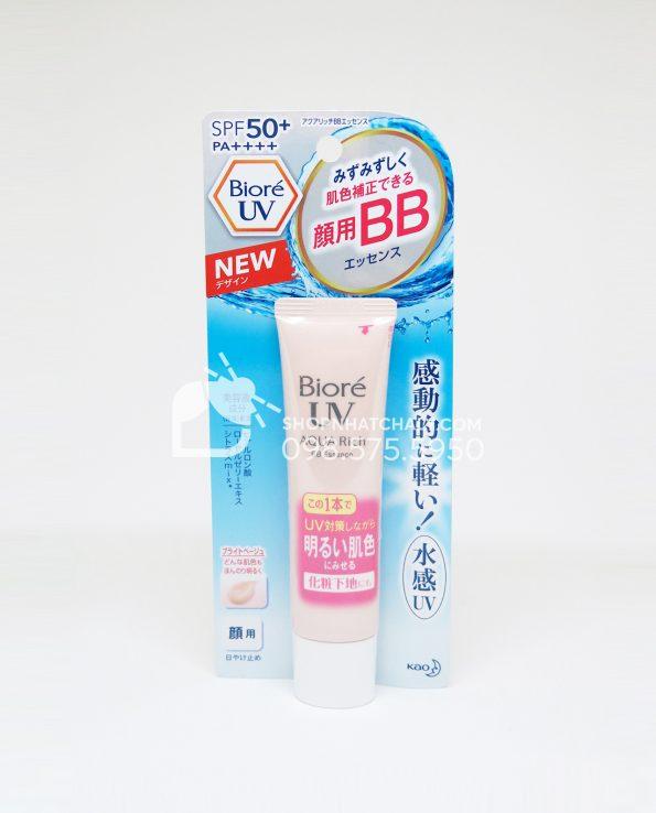 Kem chống nắng che khuyết điểm Biore Uv Aqua Rich Bb Essence