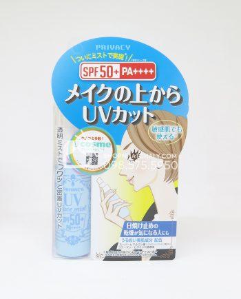 Kem chống nắng dạng xịt Privacy UV Face Mist SPF50 Nhật
